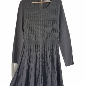 Eliza J Knit Fit and Flare Career Dress Size XL